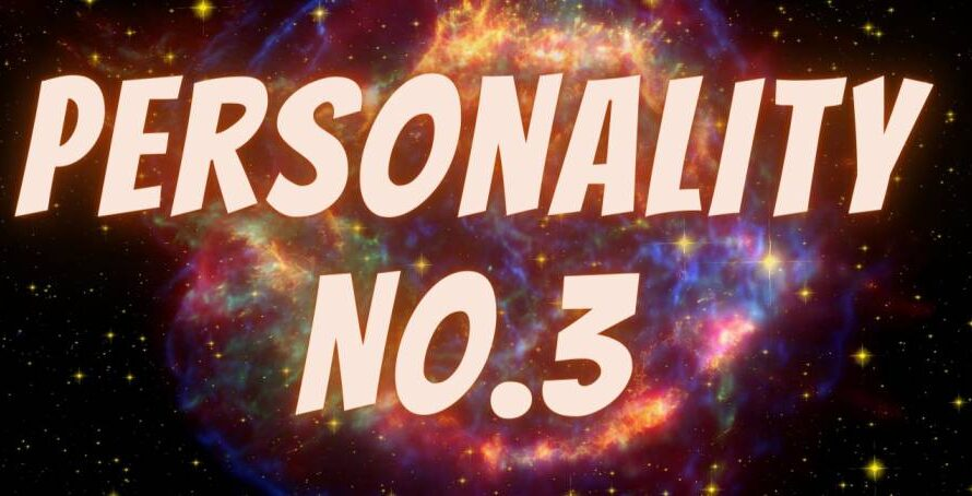 [Numerology] Life Path For Personality Number 3